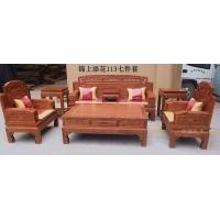 红木沙发全实木沙发组合十一件明清古典仿古七件套锦上添花