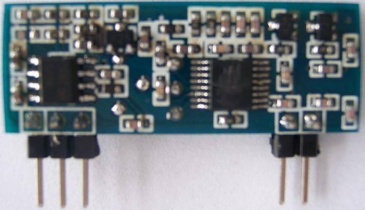 道闸无线接收模块电路图