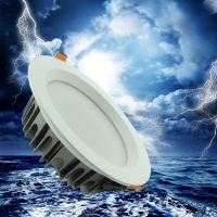 4寸LED压铸筒灯外壳天花灯COB筒灯外壳