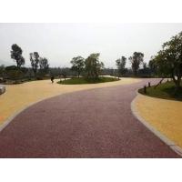 彩色透水地坪透水性工程铺装材料,誉臻实业
