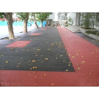 誉臻彩色透水性混凝土地坪 ——生态城市的守护者!