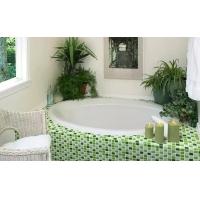 绿色陶瓷马赛克 卫生间泳池马赛克瓷砖 三维四度