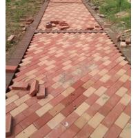 供应云南开远优质陶土砖 道板砖 园林广场砖