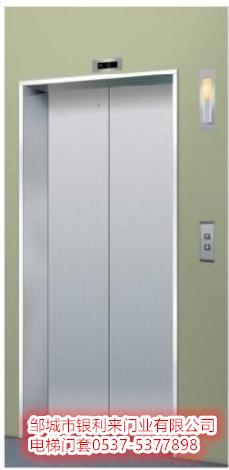 银利来门业加工定做象牙白氟碳漆电梯门套