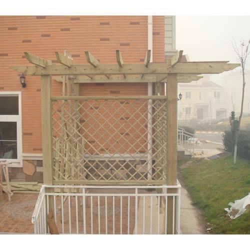 欧洲世家别墅区 - 陕西防腐木|西安防腐木厂家