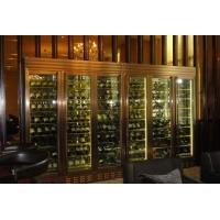 玫瑰金不锈钢酒柜,古铜拉丝不锈钢酒柜,黑钛不锈钢酒柜