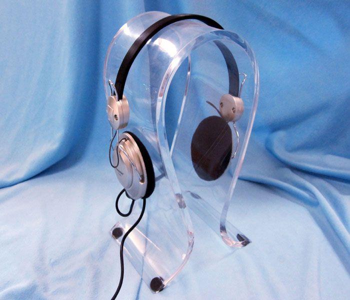 深圳力达亚克力耳机耳塞耳麦展架支架展示架8mm