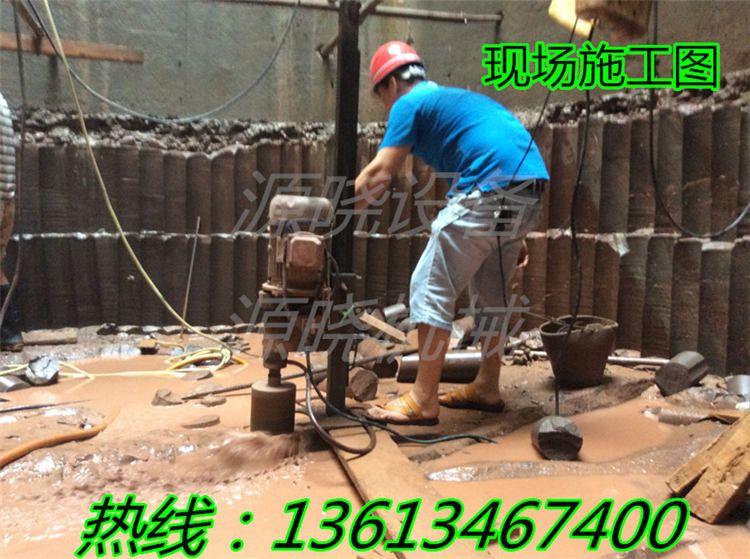 河北秦皇岛工程水磨钻机YX-160