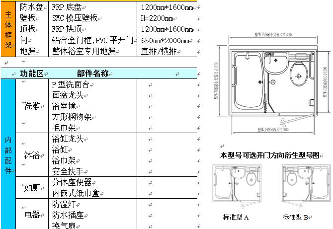 浴室电路施工图