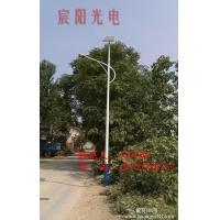 物美价廉得太阳能路灯 质保三年 新农村专用路灯