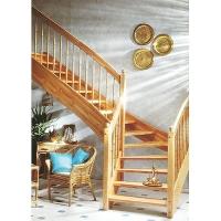 成都升泰-西格玛风格实木楼梯