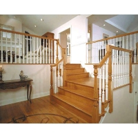 成都升泰-个性化实木楼梯