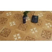 艺术拼花系列 D6202曲线拼花 高品质环保地板