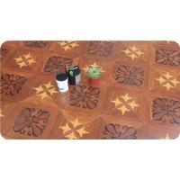 艺术拼花系列 D6207曲线拼花 高品质环保地板