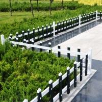 茂岳花坛围栏pvc塑钢护栏庭院围墙栏免维护栅栏