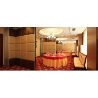 上海酒店活动隔断 宴会厅移动隔断 会议厅隔音屏风