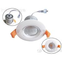 LED筒灯 暖白光COB筒灯5W7W10W色温可定制点亮照明