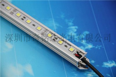5050高亮正白滴胶防水柜台照明硬灯条