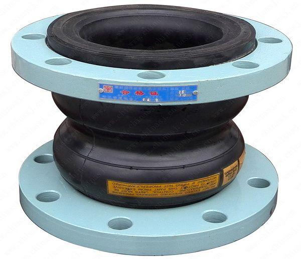 松江牌KXT双球体橡胶软接头/避震喉(国标型)