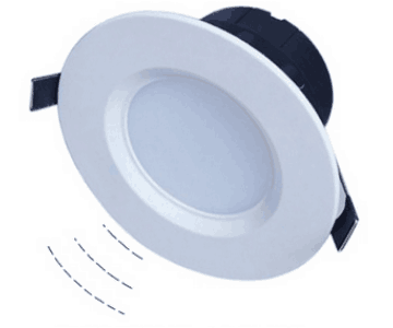 一体化LED雷达感应筒灯
