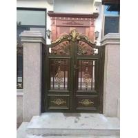 武陵红铜门,武陵红铝艺庭院门,铝艺栅栏,庭院围栏,