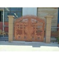 武陵红铜门,铝艺庭院围栏,铝艺护栏,葡萄架,露台棚