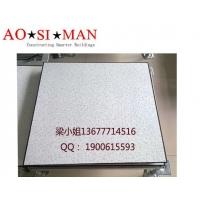 供应奥斯曼PVC通风防静电地板600*600*35