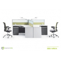 山西10大办公家具品牌帝得森新款屏时尚风办公桌