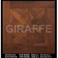 供应长颈鹿FPW30048+RXE1303黑胡桃木地板