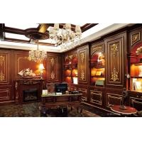 富阳别墅原木护墙板,原木护墙板价格,护墙板款式