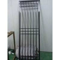 黑钛金不锈钢屏风隔断定制