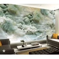 EOP晶鋼大板 仿大理石石紋板 3D打印背景畫