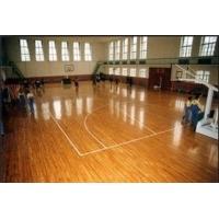 枫木复合实木运动地板 橡木柞木地板 舞蹈篮球场羽毛球场龙骨结