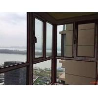 南京世贸外滩封闭阳台窗案例/隔热断桥铝门窗/断桥铝平开窗