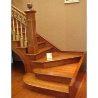 南京红灯木楼梯-L型木楼梯-装修实景图17