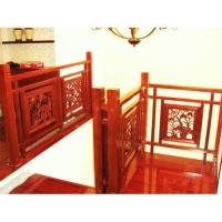 南京红灯木楼梯-柱子扶手-装修实景图21