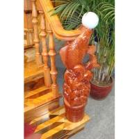 南京红灯木楼梯-柱子扶手-装修实景图27