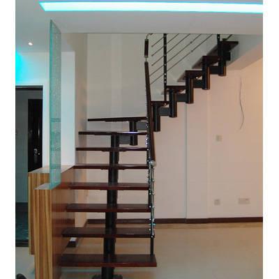 南京红灯钢木结构楼梯