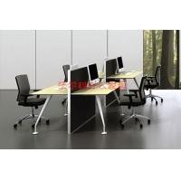 全新职员工位桌,时尚钢架办公桌组合,四人位组合