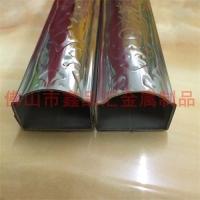 不锈钢430扶手花纹管