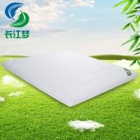 竹原纤维床垫 定做1.5 1.8m床垫长江梦 席梦思硬床垫
