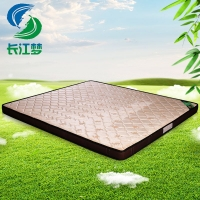 竹原纤维床垫 席梦思床垫 1.5 1.8m床垫 双人床 长江