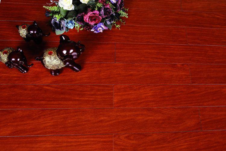 馨逸家 实木地板系列 龙凤檀