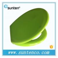 厦门盛滕卫浴热卖标准脲醛马桶盖板 绿色坐便器马桶盖板