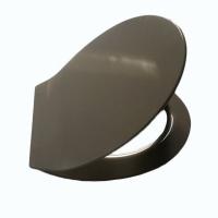 厦门脲醛材质超薄标准形灰色马桶盖板 缓降静音马桶盖