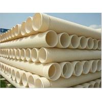 供应U-PVC双壁波纹管/U-PVC波纹管价格