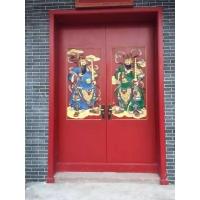 成都中式仿古大门,中式仿古雕花实木大门,中式别墅大门