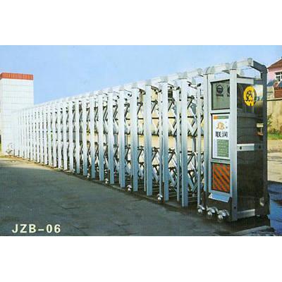 南京联润铁艺装饰工程公司-大门系列-伸缩门-JZB-06