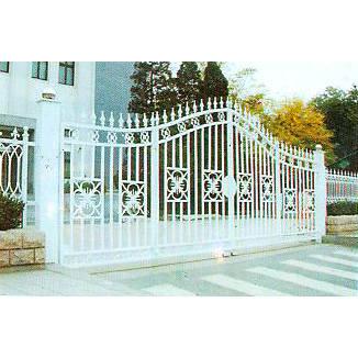 南京联润铁艺装饰工程公司-大门系列-铸铁大门-大门-014
