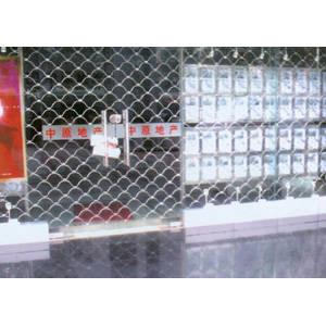 南京联润铁艺装饰工程公司-大门系列-不锈钢门窗-不锈钢梅花网